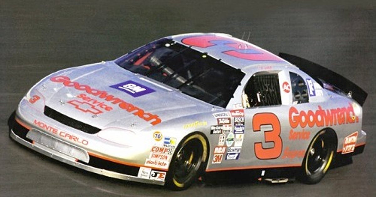 Dale Earnhardt Sr Father Of The All Star Paint Scheme