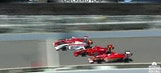 Two IndyCar Races At The Brickyard, Two Completely Opposite Finishes