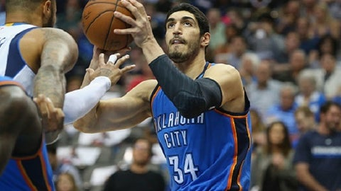 Oklahoma City Thunder: Enes Kanter, PF/C