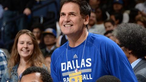 Mark Cuban, owner, Dallas Mavericks