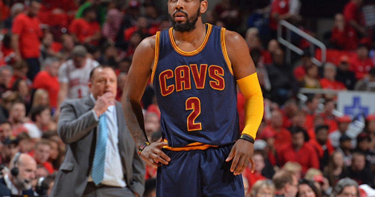 Cavs Point Guard Kyrie Irving Has Light Workout Before