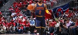 Kyrie Irving questionable for Game 2 versus Atlanta