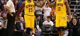 LeBron gives praise to teammate Tristan Thompson