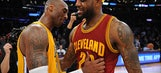 LeBron on Kobe's influence: 'I wanted to be just like him'