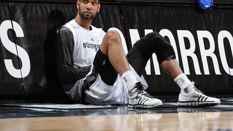 Tim Duncan, San Antonio Spurs (2015 salary: $5.3 million)