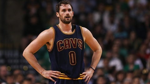 4. Kevin Love, PF, Cleveland Cavaliers