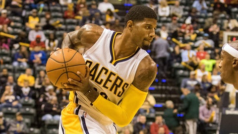 Paul George is back, and the Pacers should be fun