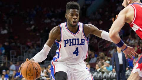 Eric Bledsoe to the 76ers for Nerlens Noel, Carl Landry and Kendall Marshall
