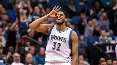 Rookie of the Year: Karl-Anthony Towns, Minnesota Timberwolves