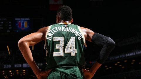 Milwaukee Bucks: Giannis Antetokounmpo, SF