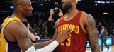 LeBron on never facing Kobe in Finals: 'I didn't hold up my end'