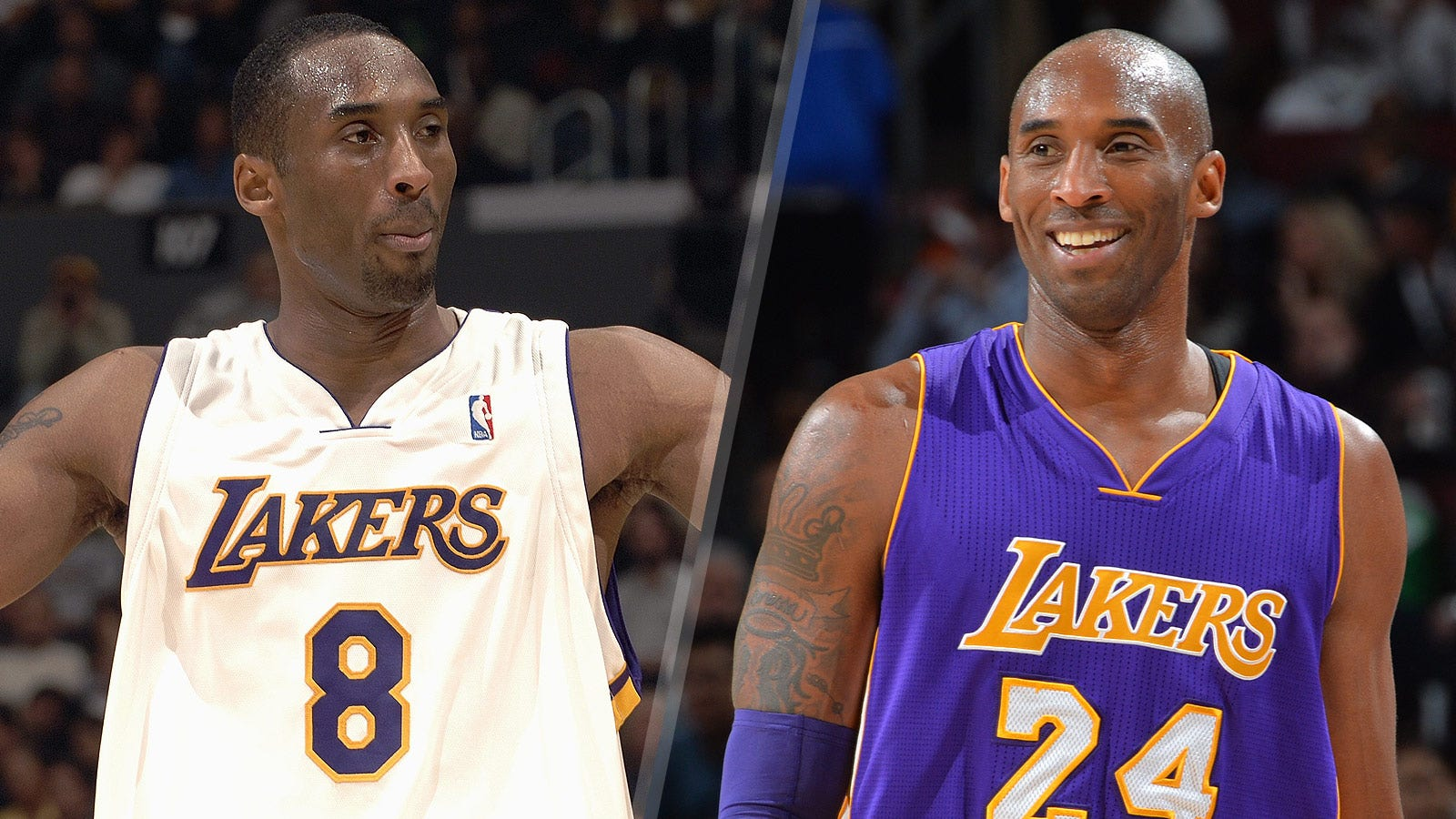 competitive price 24406 62178 8 or 24? Lakers GM sets stage for inevitable Kobe jersey ...