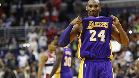 Today: The end of the road for Kobe