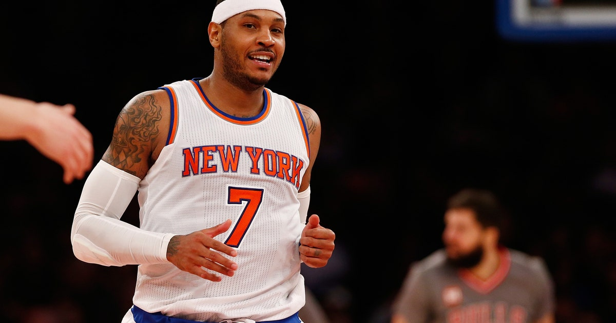 9b297b56401 Carmelo Anthony responds to trade rumors with hilarious Instagram post |  FOX Sports