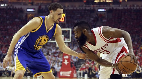 Can anyone dethrone James Harden for No. 1?