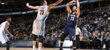 Gasol scores 27 as Grizzlies hold off Nuggets, 102-101.