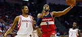 Wall flirts with triple-double, Wizards beat Rockets 123-122
