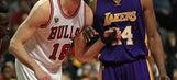 Bulls beat Lakers 126-115 to spoil Kobe's Chicago farewell