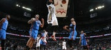 Anthony Davis helps Pelicans survive 76 by Westbrook & Durant