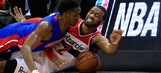 Wall, Nene lead Wizards to 124-81 blowout of Pistons