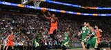 Durant's 28 points leads Thunder to 130-109 win over Celtics