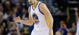 Splash Bros. combine for 73 to lead Warriors to win No. 65