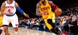 LeBron's triple-double carries Cavs to victory at Knicks