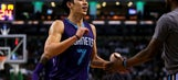 Lin has 25 points to send Hornets to 114-100 rout over Celts