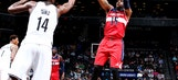 Wizards score first 20, pull away late to beat Nets 120-111