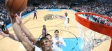 Durant leads Thunder past Lakers in Bryant's last road game