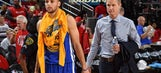 Steve Kerr rules Steph Curry out for Game 3 against Portland