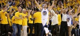 Splash Brothers Curry, Thompson send Warriors to West finals
