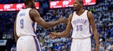 Kevin Durant says Thunder trading Serge Ibaka was a 'good move'
