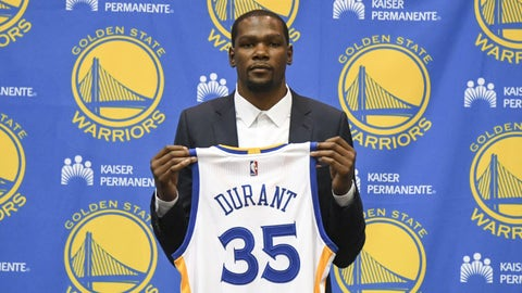 Kevin Durant (2012, 2016)
