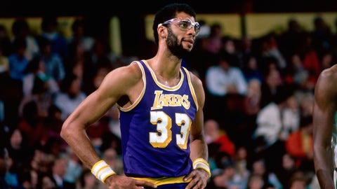 Kareem Abdul-Jabbar, C, 1975-76 Los Angeles Lakers