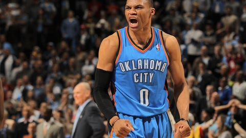 93 overall - Russell Westbrook