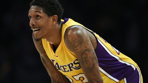 Lou Williams started his campaign for another Sixth Man award