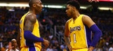 Lakers: D'Angelo Russell Hasn't Talked to Kobe Since His Retirement
