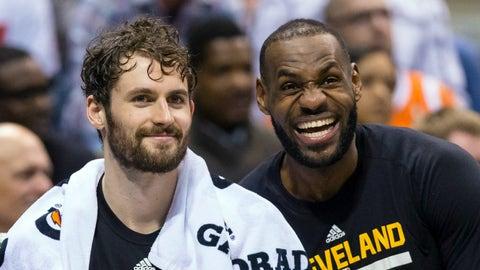 96 overall - LeBron James