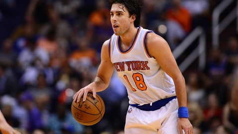 New York Knicks: Sasha Vujacic, 32
