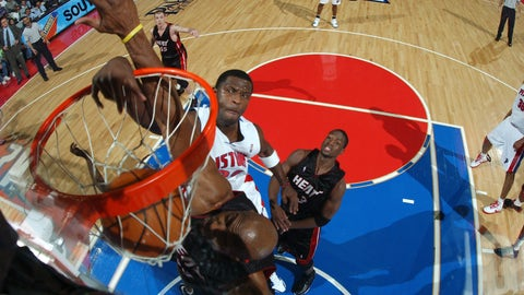Antonio McDyess exhumes Alonzo Mourning only to bury him yet again: another angle