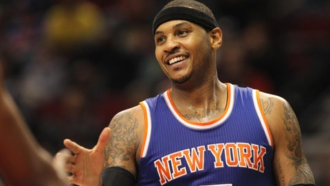 Carmelo Anthony, PF, New York Knicks