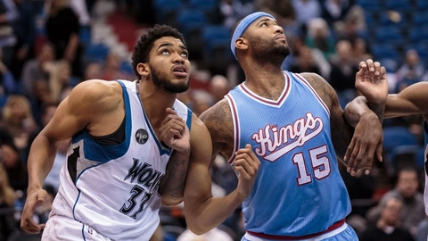 Kings best: DeMarcus Cousins (90 overall)