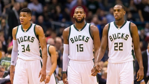 Milwaukee Bucks: Giannis Antetokounmpo, Khris Middleton, Jabari Parker