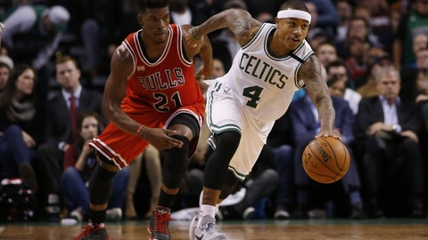 Jimmy Butler vs. Isaiah Thomas