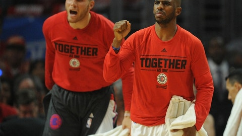 Blake Griffin and Chris Paul, L.A. Clippers