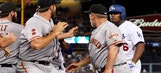 Benches clear during altercation between Yasiel Puig and Madison Bumgarner