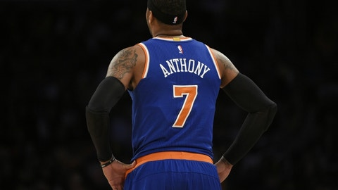Knicks best: Carmelo Anthony (88 overall)