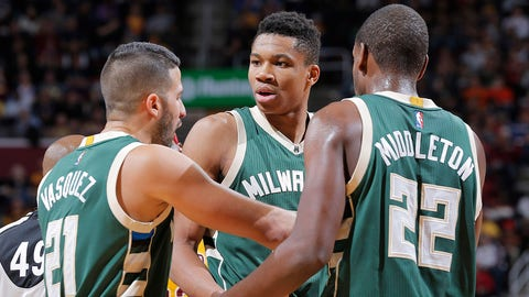 Giannis Antetokounmpo, G/F, Milwaukee Bucks