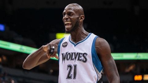 Minnesota Timberwolves: Kevin Garnett